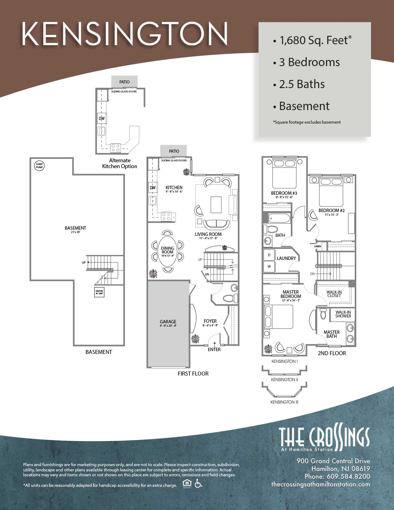 The Crossings at Hamilton Station Apartment Floor Plan Kensington