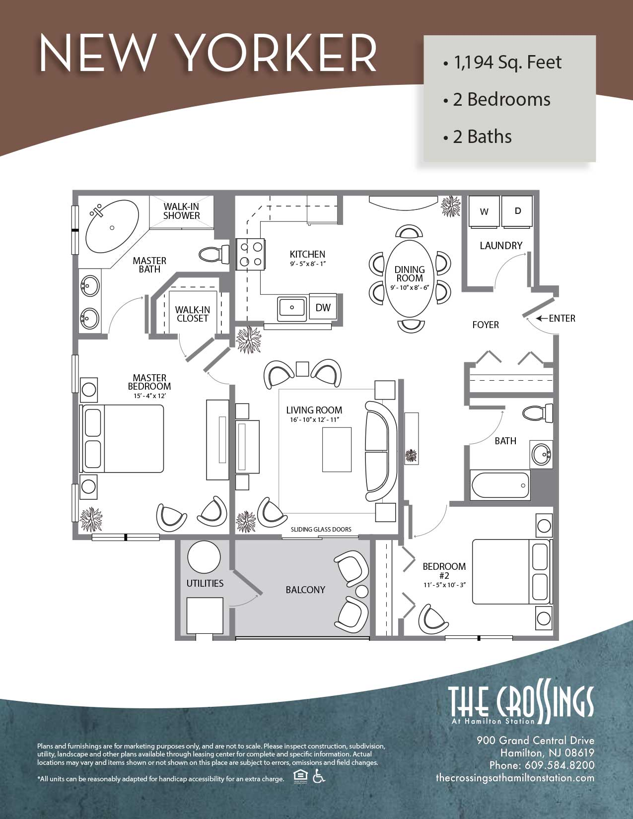 The Crossings at Hamilton Station Apartment Floor Plan The New Yorker
