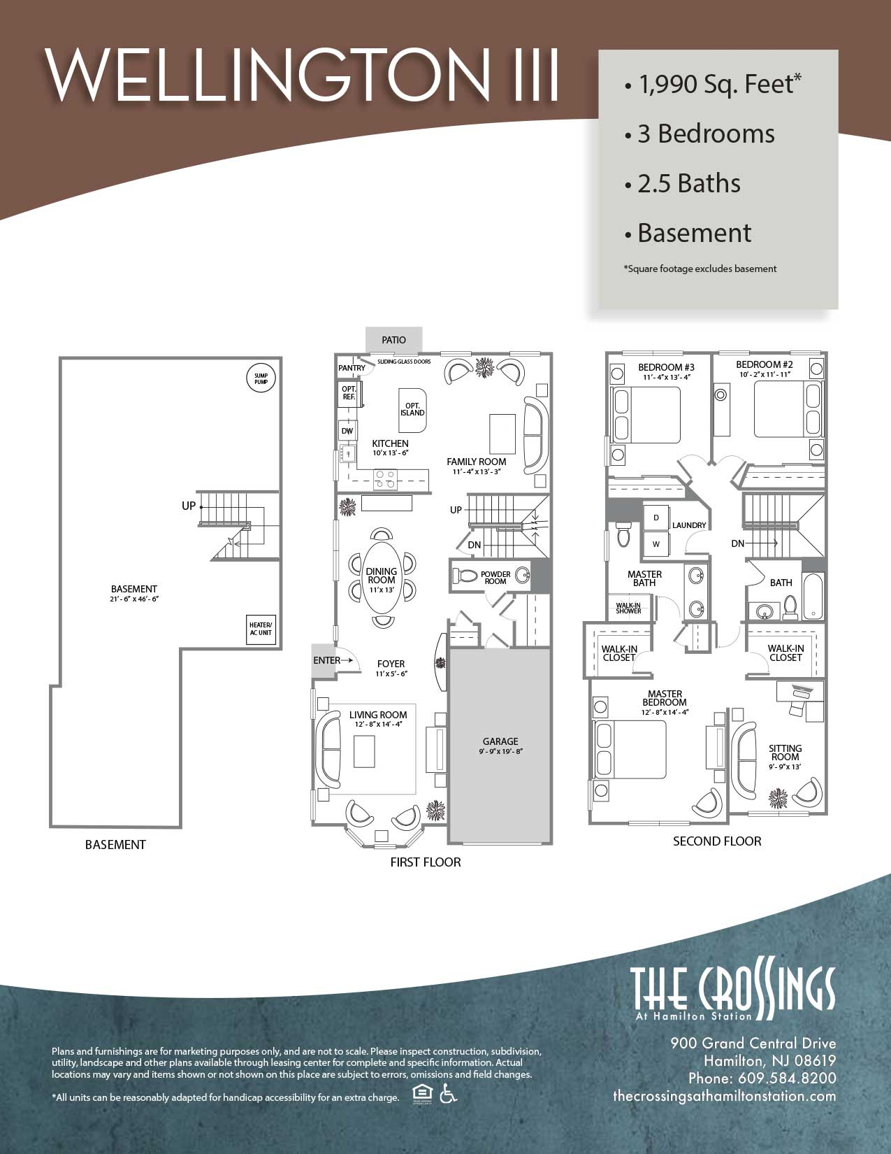 The Crossings at Hamilton Station Apartment Floor Plan Wellington
