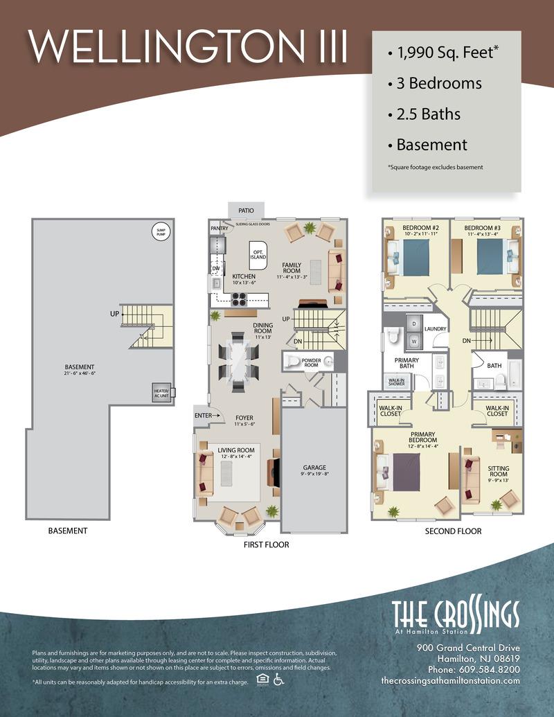 The Crossings at Hamilton Station Apartment Floor Plan Wellington